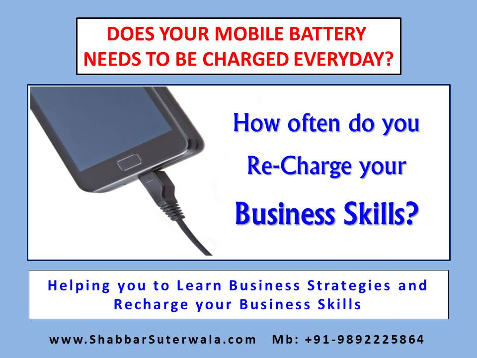 Recharge your Business Skills