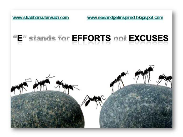 e-for-efforts